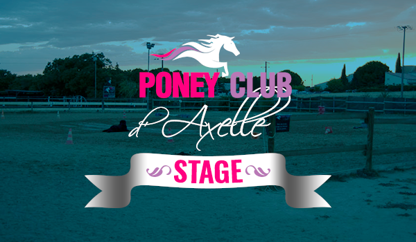 stage au poney club d'axelle